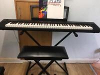 Yamaha piano keyboard