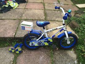 Kids Police Bike