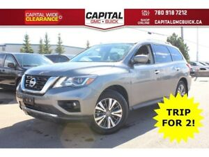 2018 Nissan Pathfinder SL PREMIUM | 4X4 | NAV | LEATHER | SUNROO