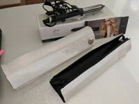 Unused GHD Arctic Gold Curve Gift Set