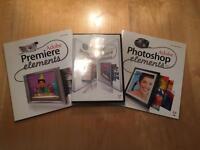 Adobe Photoshop Elements plus Premier Elements - Home PC Laptop Camera Photography