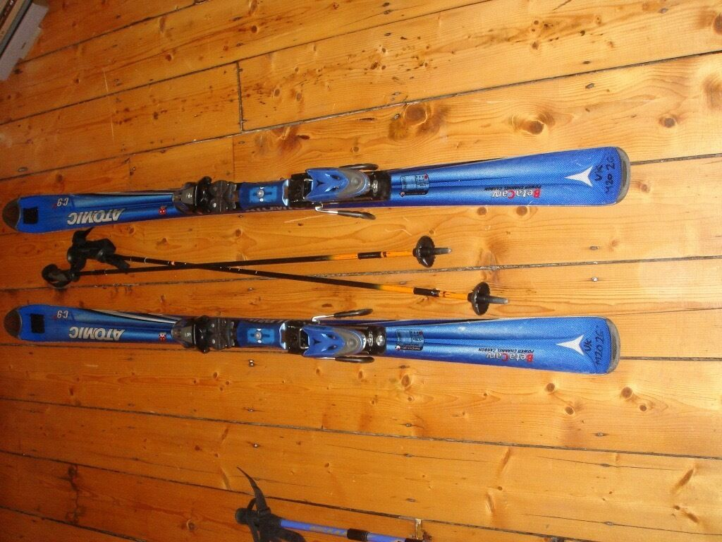 Atomic skisin Didsbury, ManchesterGumtree - ATOMIC CARVING SKIS – C9 18 (168CM) Atomic Beta Carve Skis, with Salomon Ski poles (light weight composite), and provided with a robust Salomon Equipe 2m ski bag (which is worth £50 alone!) All in great condition