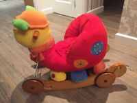 Lofty Bug rocking horse