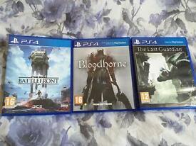 Battlefront, The Last Guardian & Bloodborne