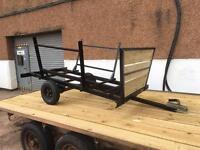 Timber trailer for atv/utv/car