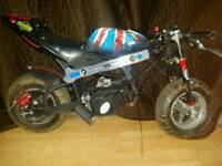 Mini moto pocket bike
