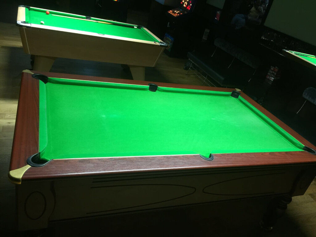 Full Size Ft British Pool Table Simply Pool LAST ONE REMAINING - British pool table