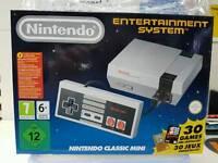 Nintendo nes mini brand new unwanted gift
