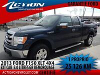 2013 Ford F-150 XLT 4X4 EXT CAB 5.0 L BLUETOOTH