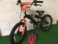 Child's Bike XT18 and Helmet