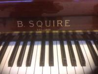 B.SQUIRE UPRIGHT PIANO FOR SALE