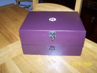 Wine bar accessories box
