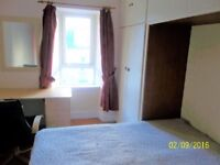 Room in Jamaica Street. short let available now. Ideal for University