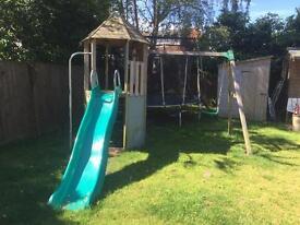 TP swing,slide and den set