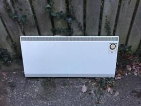 Electric heater thermostat control