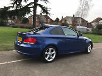 BMW 1 Series 2.0 118d 2dr Coupe **Auto Satnav Leather**