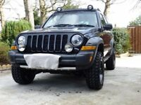 Jeep Cherokee RENEGADE edition (2005)
