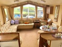 6 Berth Static caravan for sale on a 12 month park with sea & countryside views, Isle Of Wight, IOW