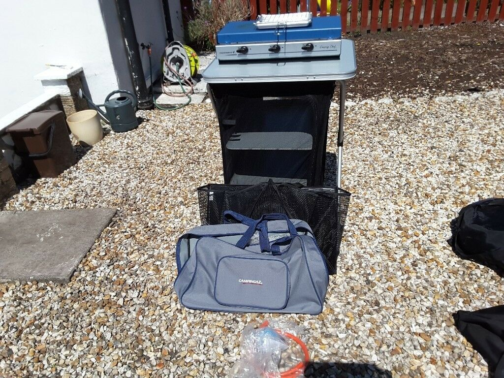 Vango 4 Shelf Camping Cupboard Only In Airdrie North