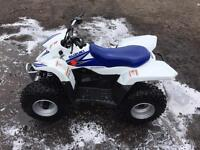 Suzuki ltz 50 quad 1 owner from new