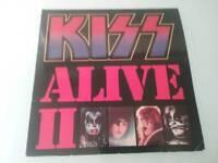 KISS ALIVE 11 CASABLANCA 6685043 2 LPs. VINYL. 1977 vg/ex