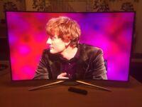 "New: Ultra Slim SAMSUNG Smart Ultra HD 4k 49"" Curved LED TV (2016)"