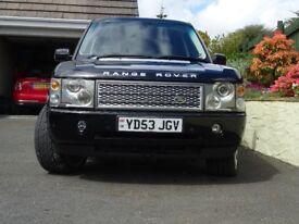 Range Rover Vogue 2003/53 4.4 Petrol Automatic