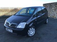 2005 05 VAUXHALL MERIVA LIFE 1.7 CDTi *DIESEL* 5dr - *LOW MILEAGE* - ONLY 3 FORMER KEEPERS!