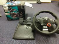 Logitech Driving Force GT PS3 force feedback steering wheel