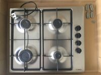 Gas hob stainless steel 60cm