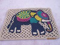 Door mat - elephant