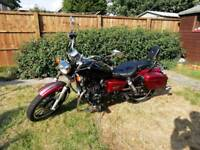 Sinnis 125, perfect condition, new MOT