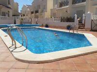 Holiday rental spain near torrevieja, in popular qiudad quesada, 3 bedroom,aircon,