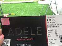 Adele tomorrow 28th June 1 ticket lower tier face value