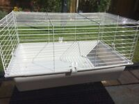 Small collapsable animal cage