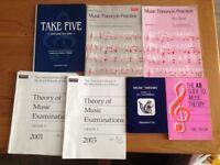 Music Theory books bundle.