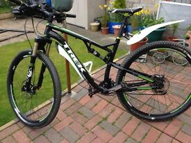 Trek superfly 8 29er mint condition