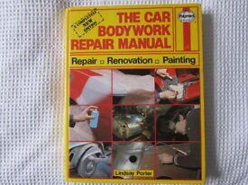 USED THE CAR BODYWORK REPAIR MANUAL BY HAYNES