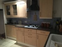 Kitchen in excellent condition for sale! Includes oven, grill, hob and sink!
