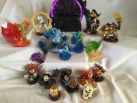 Large set of trap team skylanders with ps3 portal