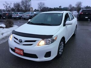 2013 Toyota Corolla CE - NOT BASIC! New tires and Toyota Certifi