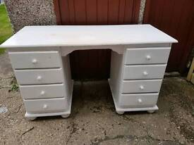 8 drawer dressing table