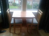 Table & 2 Chairs ..... £25