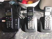TRIPLE HOUSE PHONES