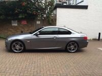 "BMW 320d M Sport Coupe. Grey With 5 Spoke 19"" Alloys. Full Service History. Immaculate."