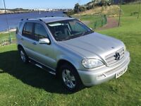 Mercedes Benz ML 270 CDI 4X4 7 Seater, Auto Triptronic, Warranty, Full m.o.t, Warranty, Low Miles.