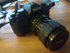 Vivitar V3800N 35mm SLR Camera w/ 28-70mm Lens - Ideal for photography student