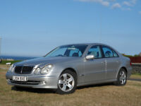 2004 Mercedes E320cdi Avantgarde Auto F.S.H. low milage 204bhp turbo diesel