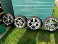 BMW m sport alloys & tyres 18 inch £300