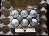 8 titleist velocity golf balls good condition